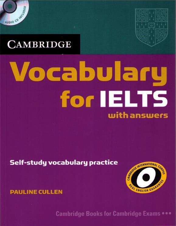 Kết quả hình ảnh cho Sách luyện IELTS Cambridge Vocabulary for IELTS Advanced