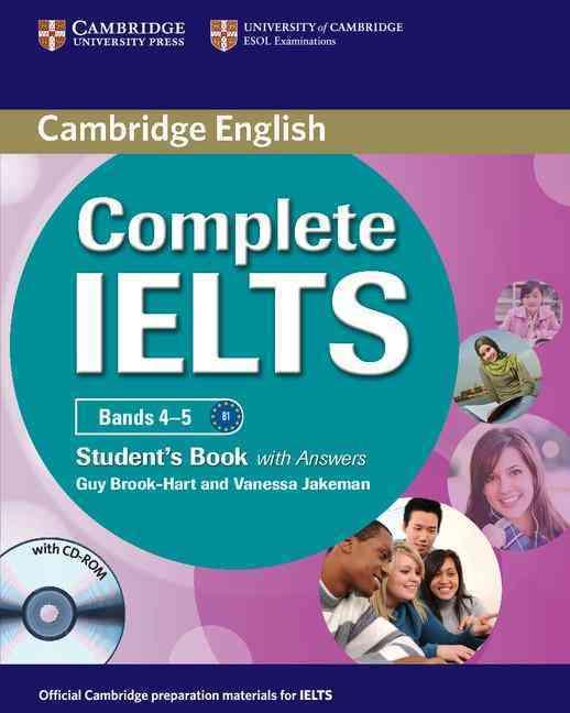 Cambridge complete ielts bands 4-5 student book